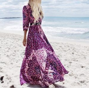 Spell Kiss The Sky Gown - Violet